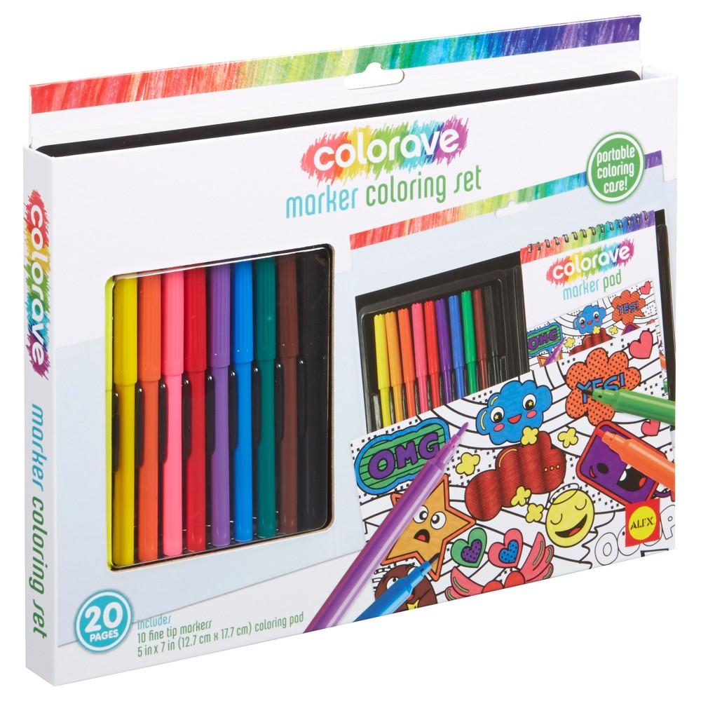 Image of ALEX Art Colorave Marker Coloring Set