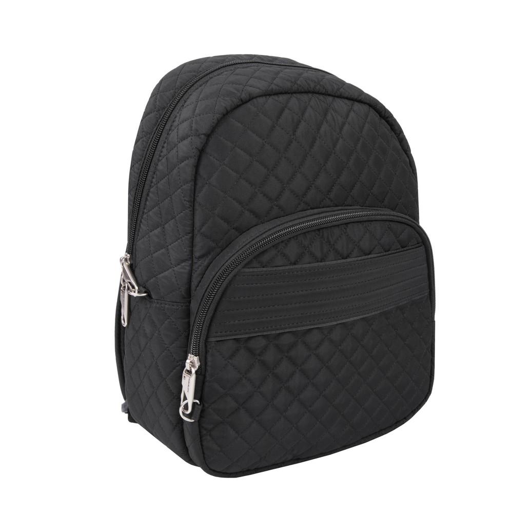 """Image of """"Travelon 13"""""""" RFID Anti-Theft Boho Backpack - Black"""""""