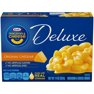 Mac & Cheese: Kraft Deluxe