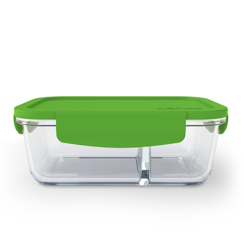 Image of Bentgo Glass Snack Container - Green