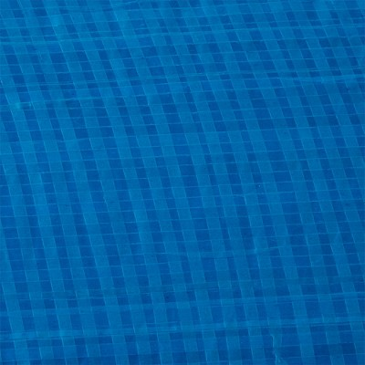 Bestway 58032E 8 Foot Round PVC Debris and Leaves Pool Cover with Drain Holes for Above Ground Fast Set Swimming Pools, Blue