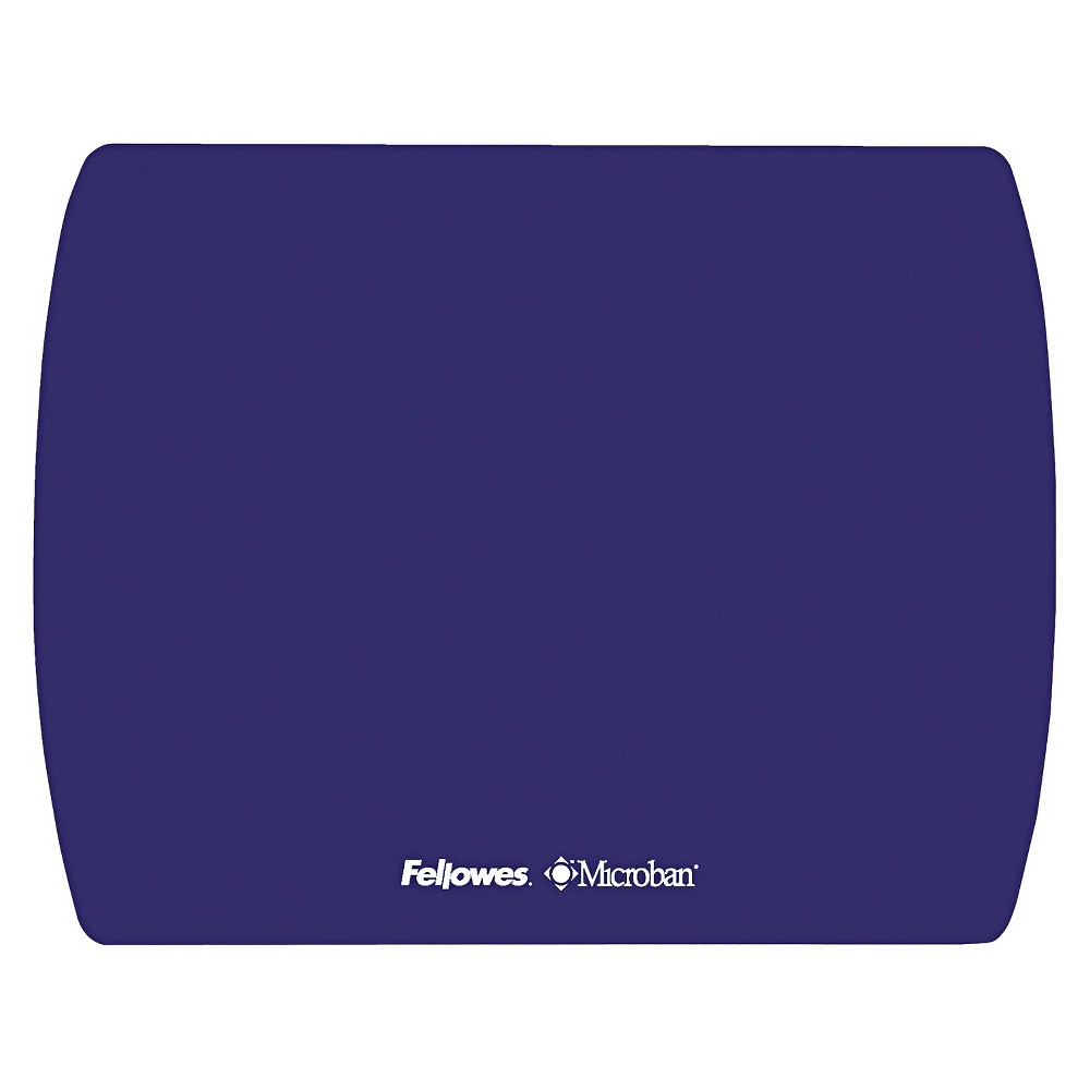 Image of Fellowes Microban Ultra Thin Mouse Pad - Blue