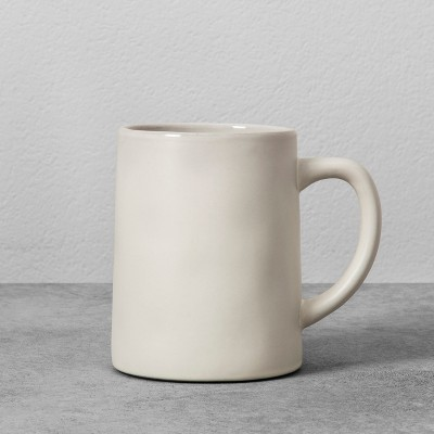 Stoneware Mug 14oz - Cream - Hearth & Hand™ with Magnolia
