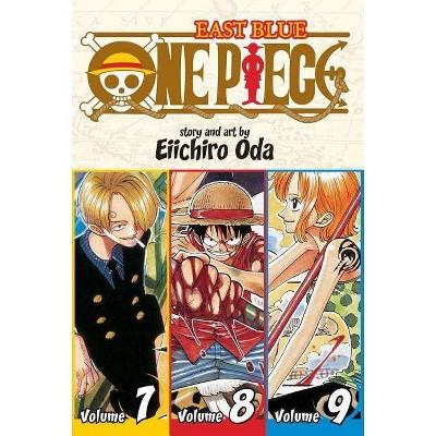 One Piece: East Blue 7-8-9, Vol. 3 (Omnibus Edition) - (Shonen Jump Manga (Paperback)) by  Eiichiro Oda (Paperback)