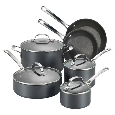 Circulon Genesis 10 Piece Hard-Anodized Non-stick Cookware Set - image 1 of 8