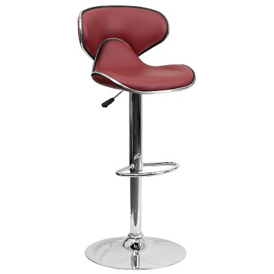 Vinyl Counter Height Barstool - Riverstone Furniture