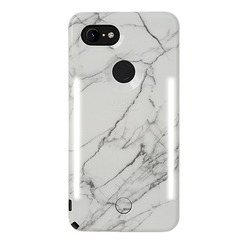 innovative design bff32 75ba6 LuMee Google Pixel 3 XL Duo Marble Case