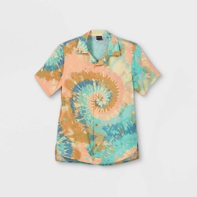 Boys' Challis Short Sleeve Button-Down Shirt - art class™