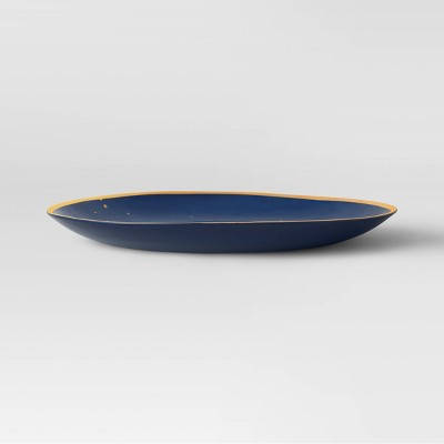 "10.5"" Melamine Dinner Plate Blue - Opalhouse™"