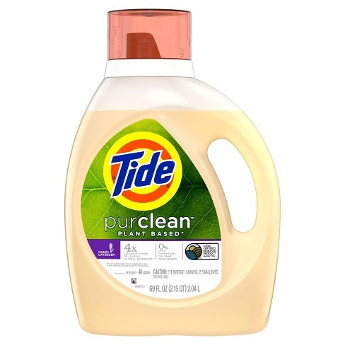 Tide purclean Honey Lavender Liquid Laundry Detergent - 69 fl oz - image 1 of 3