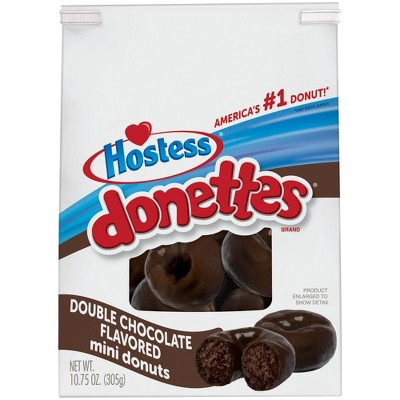 Hostess Double Chocolate Donettes - 10.75oz