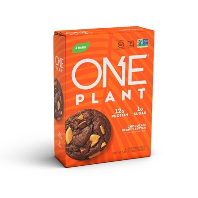 ONE Plant Protein Bar - Chocolate Peanut Butter - 4ct