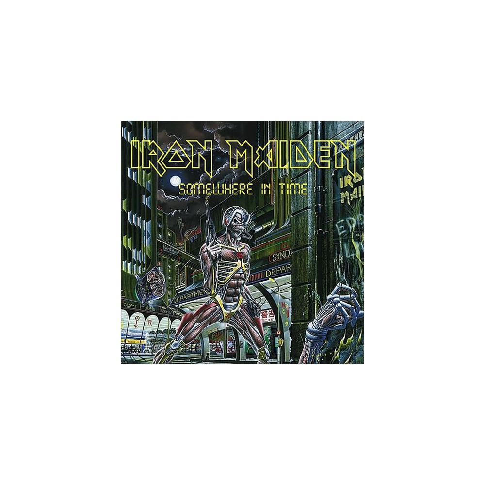Iron Maiden - Somewhere In Time (CD)