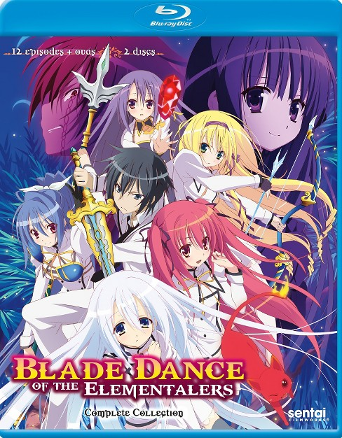 Blade dance of the elementalers:Compl (Blu-ray) - image 1 of 1