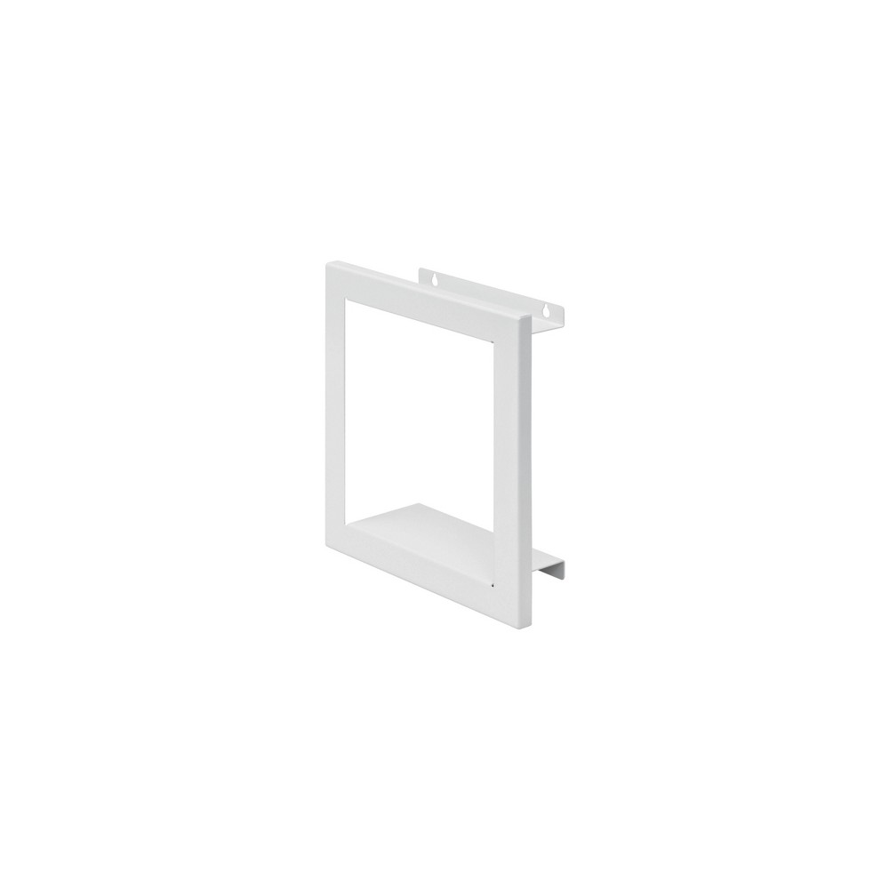"Image of ""11.2"""" x 11.2"""" Figura Square Shelf White - Dolle Shelving"""