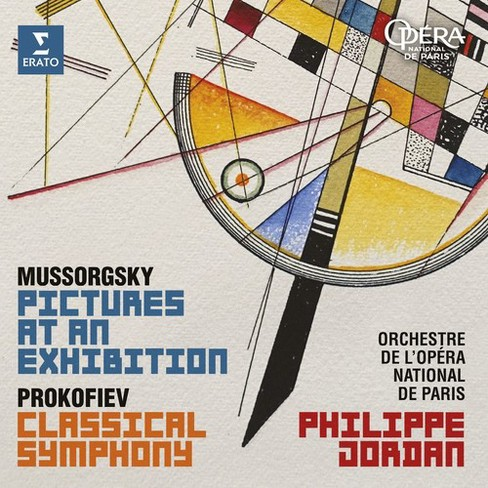 Philippe Jordan - Mussorgsky:Pictures At An Exhibition (CD) - image 1 of 1