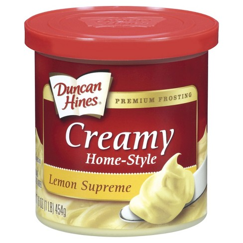 Duncan Hines® Lemon Supreme Frosting - 16oz - image 1 of 1