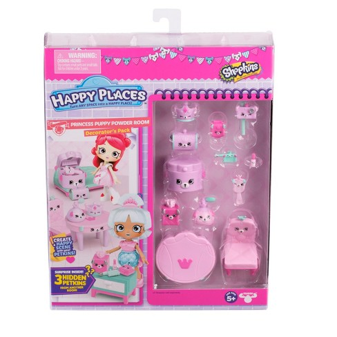 Happy Places™ Shopkins Decorator's pack - Princess Puppy Powder Room - image 1 of 5