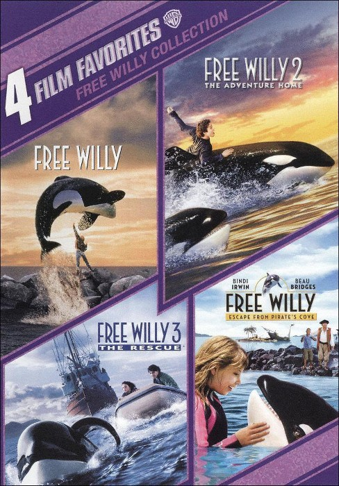 Free Willy Collection: 4 Film Favorites [2 Discs] - image 1 of 1