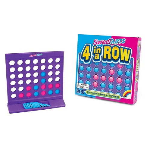 Intex Entertainment SweeTarts 4 in a Row Game - image 1 of 1