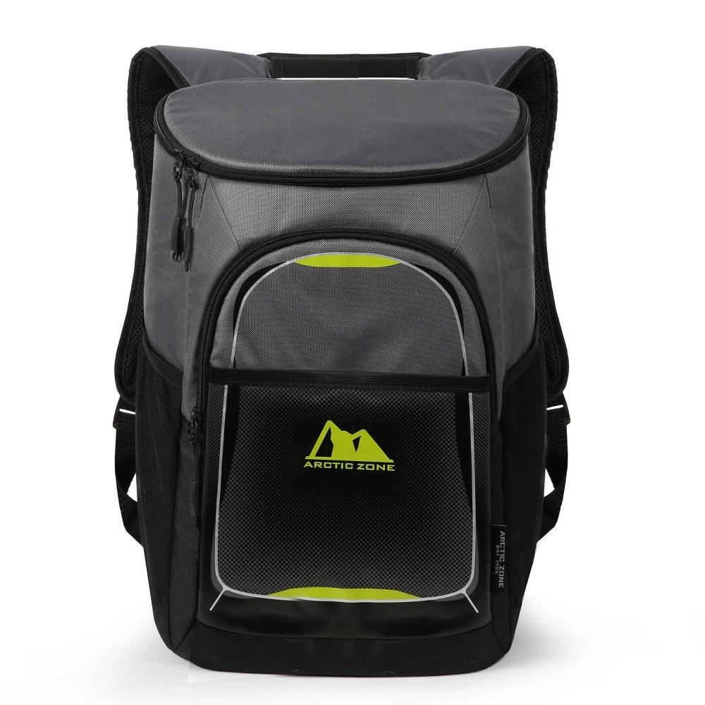 Arctic Zone 32qt Backpack Cooler Gray