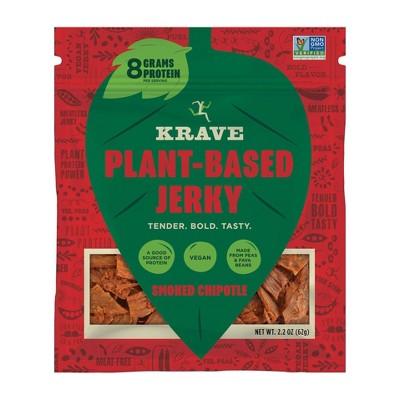 Krave Smoked Chipolte Plant Based Jerky - 2.2oz