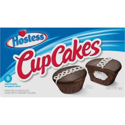 Hostess Chocolate Cup Cakes - 8ct/12.7oz