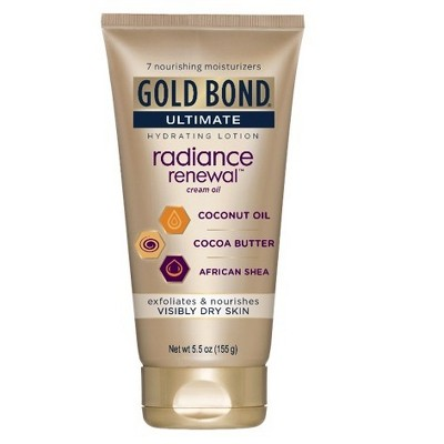Gold Bond Radiance Renewal Hand and Body Lotions - 5.5oz