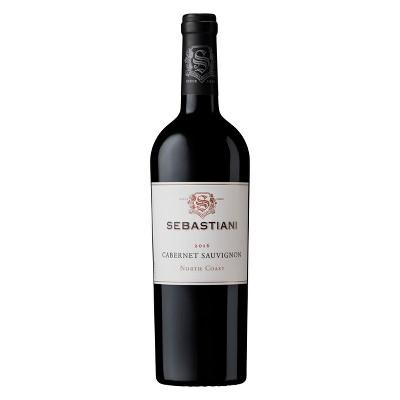 Sebastiani Cabernet Sauvignon Red Wine - 750ml Bottle