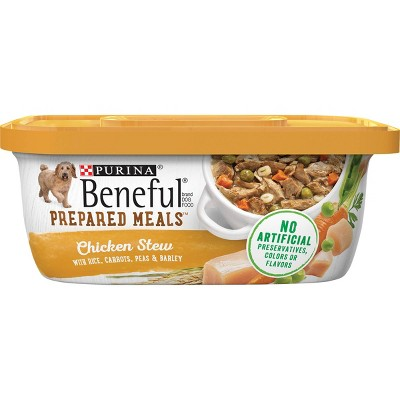 Puina Beneful Prepared Meals Flavored Stew Wet Dog Food - 10oz