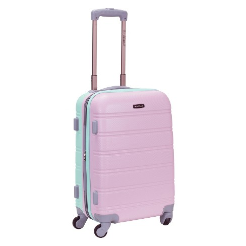"Rockland Melbourne 20"" Expandable Suitcase - Mint - image 1 of 3"