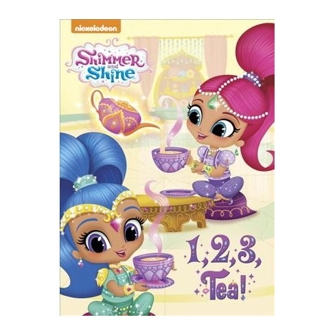 1, 2, 3, Tea! (Shimmer and Shine) - (Board_book) - image 1 of 1