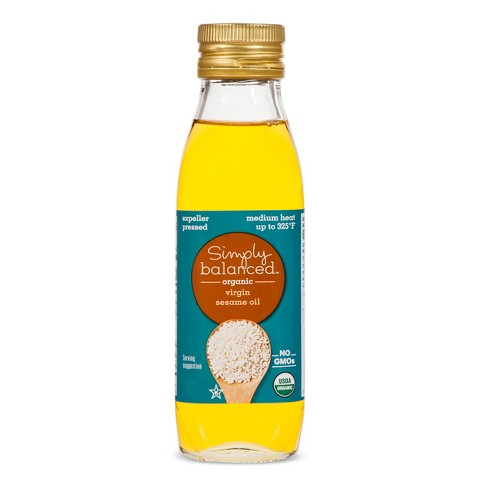 Organic Virgin Sesame Oil - 8.45oz - Simply Balanced™ - image 1 of 1