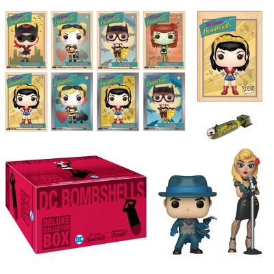 Funko DC Comics Bombshells Deluxe Collectors Box (Target Exclusive)