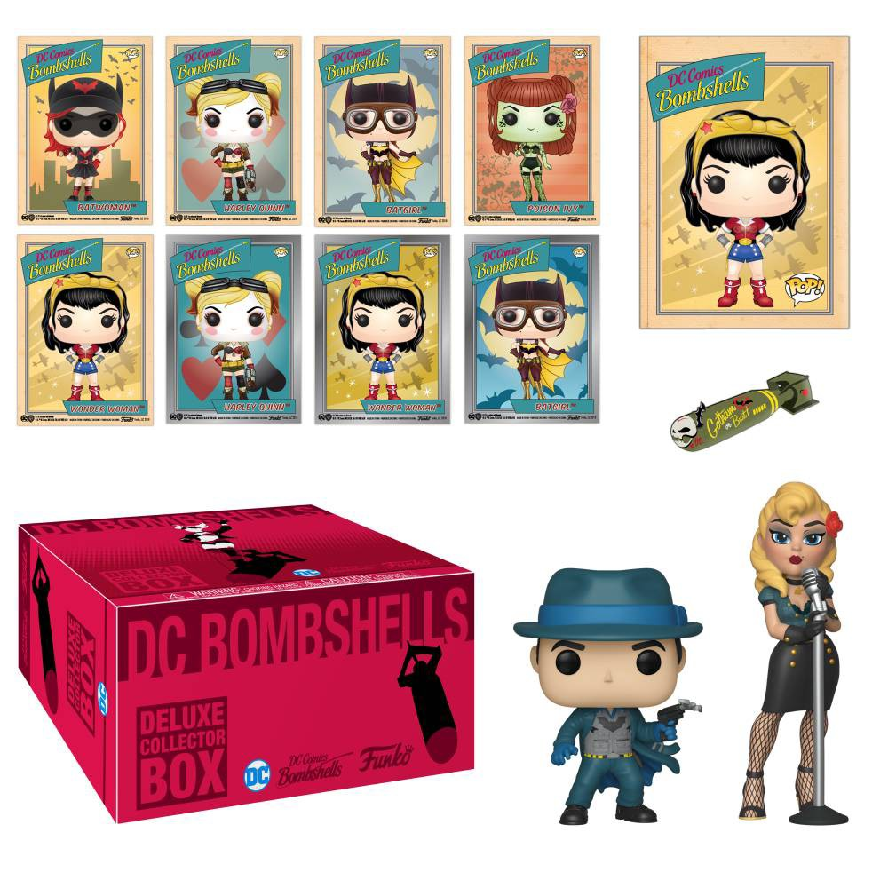 Image of Funko DC Comics Bombshells Deluxe Collectors Box (Target Exclusive)