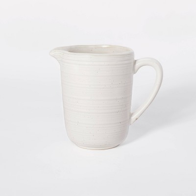 33oz Stoneware Beverage Pitcher - Threshold™ designed with Studio McGee