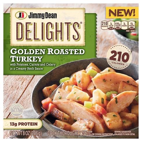 Jimmy Dean Delights Golden Roasted Turkey Bowl 8oz Target