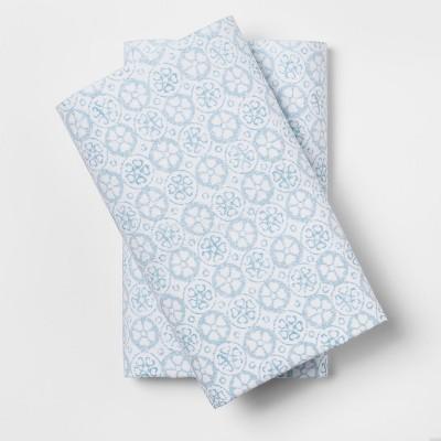Pillowcase (Standard)White Phantom Blue - Simply Shabby Chic®