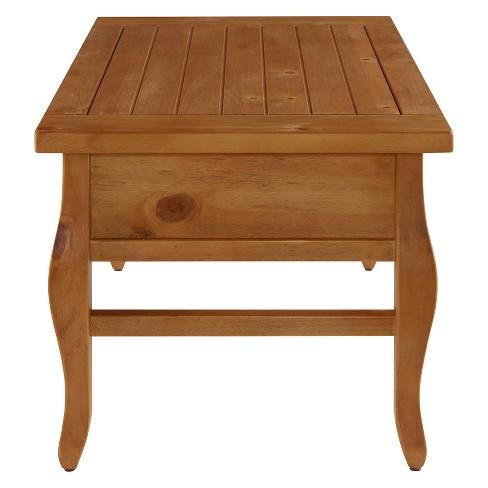 Coffee Table Antique Wood Linon Home Decor
