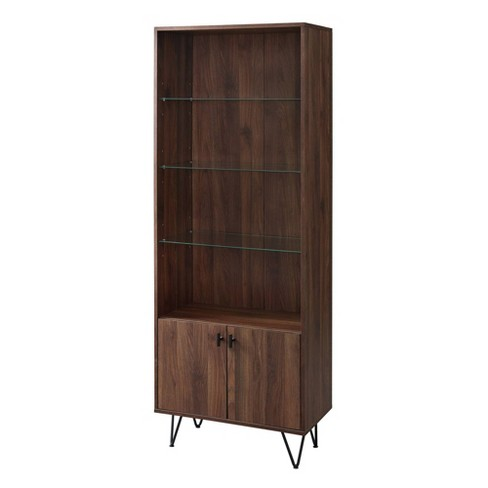 "68"" Mid-Century Modern Storage Cabinet - Saracina Home - image 1 of 4"
