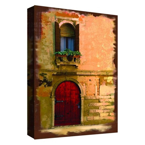 "Balcony View I Decorative Canvas Wall Art 11""x14"" - PTM Images - image 1 of 1"