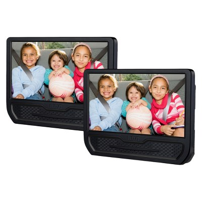 "RCA Dual Screen 9"" Mobile DVD Player - Black (DRC79981E)"