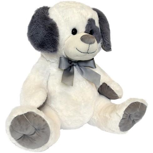 Neutral Core White Dog Stuffed Animal Target