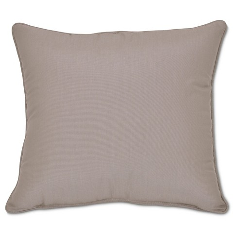 Sunbrella Deep Seat Pillow Back - Taupe - Smith & Hawken™ - image 1 of 1