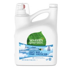 Seventh Generation Free & Clear Natural Liquid Laundry Detergent - 150oz