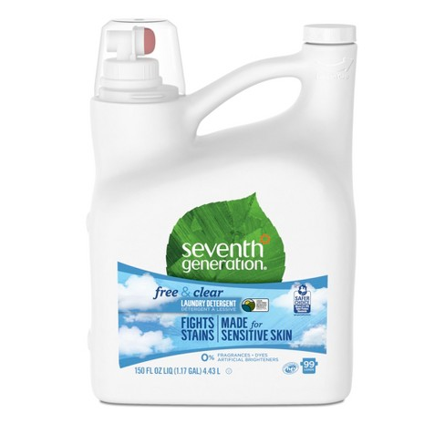 Seventh Generation Free & Clear Natural Liquid Laundry Detergent - 150oz - image 1 of 4