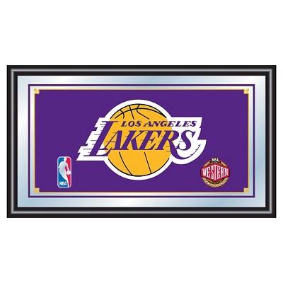 Los Angeles Lakers Team Logo Wall Mirror