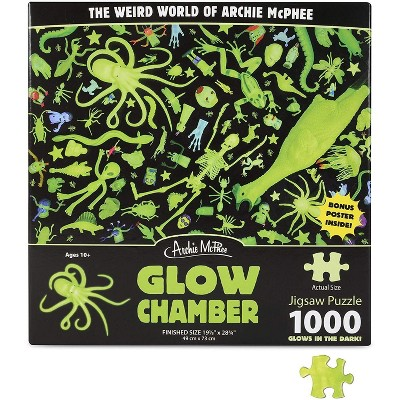 Accoutrements Glow Chamber Glow in The Dark 1000 Piece Jigsaw Puzzle