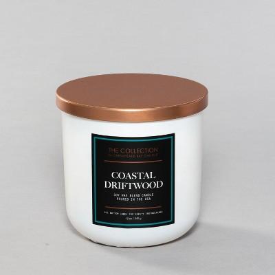 12oz Core Jar 2-Wick Candle Coastal Driftwood - Chesapeake Bay Candle