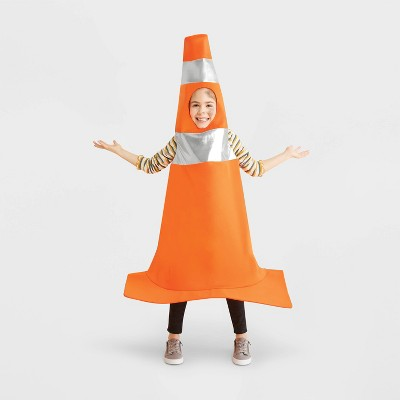 Kids' Construction Cone Halloween Costume One Size - Hyde & EEK! Boutique™